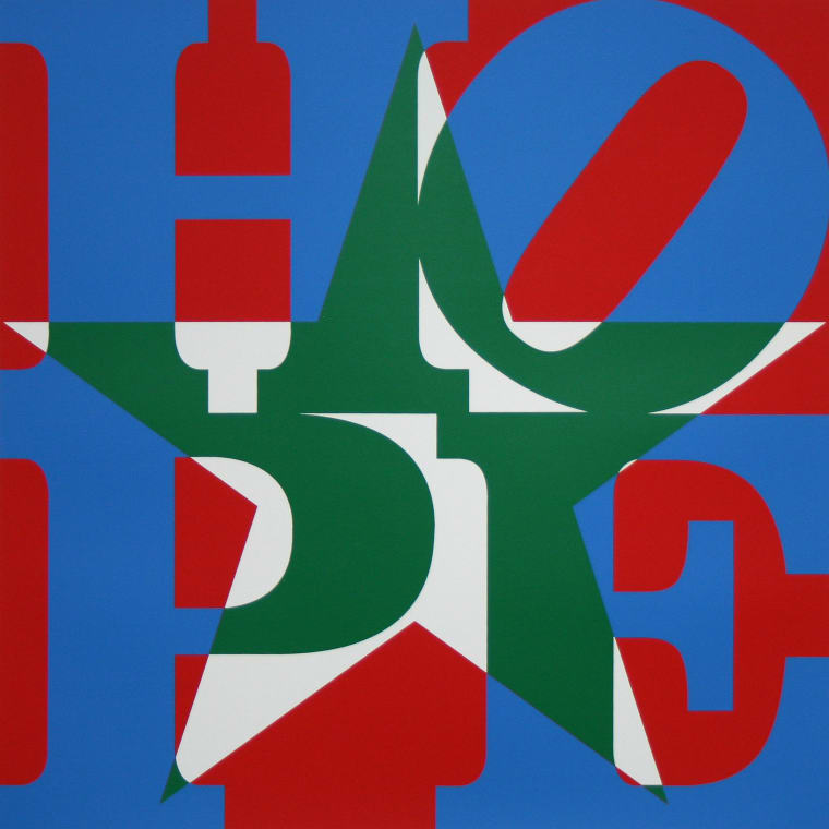 Star of HOPE, (Blue/Green/Silver/Red)