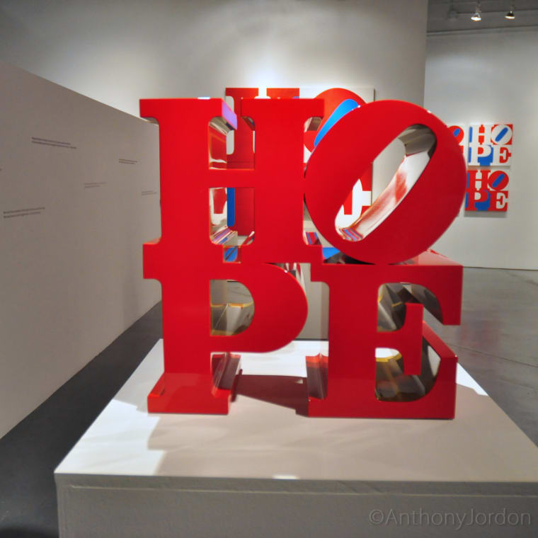 Robert Indiana, HOPE