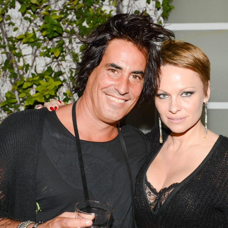 Raphael Mazzucco and Pamela Anderson