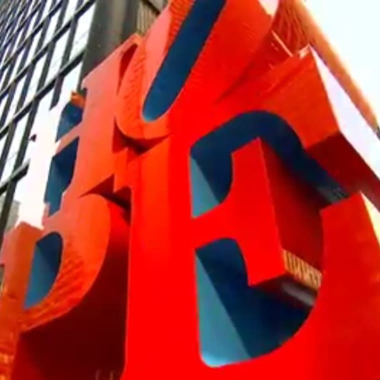 Robert Indiana's HOPE