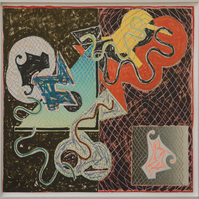 Frank Stella, Shards IV