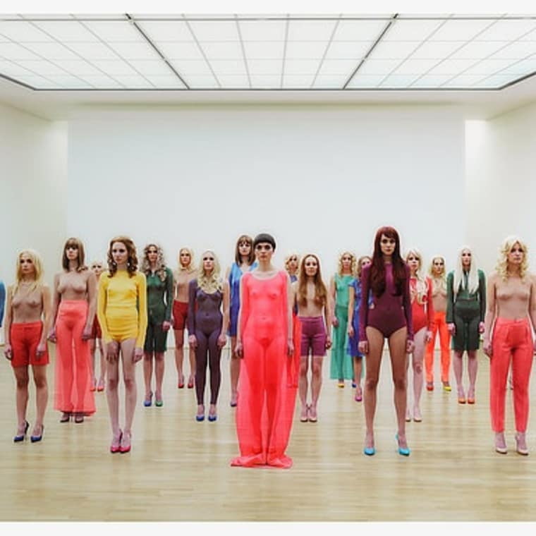 Vanessa Beecroft Joins Kanye West in New Fashion Collection and Album Presentation