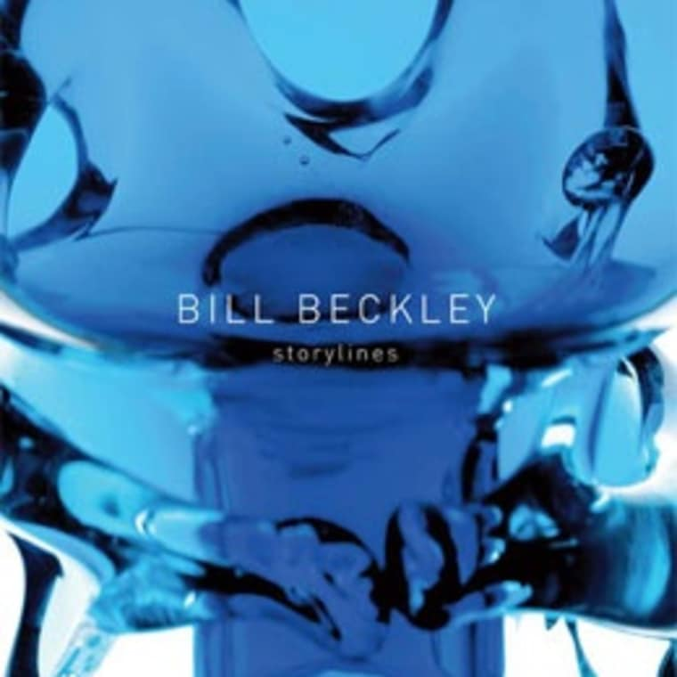 """Cover of Bill Beckley """"Storylines"""" exhibition catalogue"""