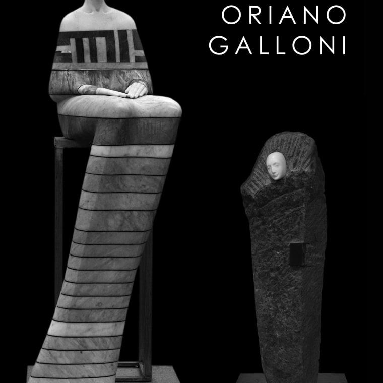 "Cover of Rosenbaum Contemporary's ""Oriano Galloni"" exhibition catalogue"