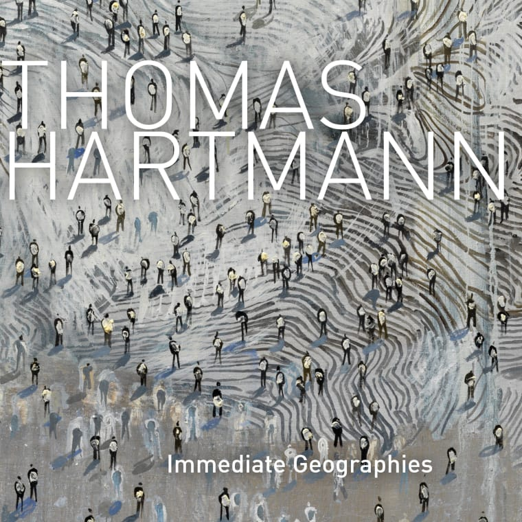 """Cover of """"Thomas Hartmann: Immediate Geographies"""" exhibition catalogue"""