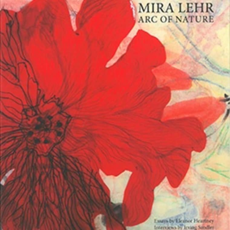 "Cover of Mira Lehr's ""The Arc of Nature"" book"