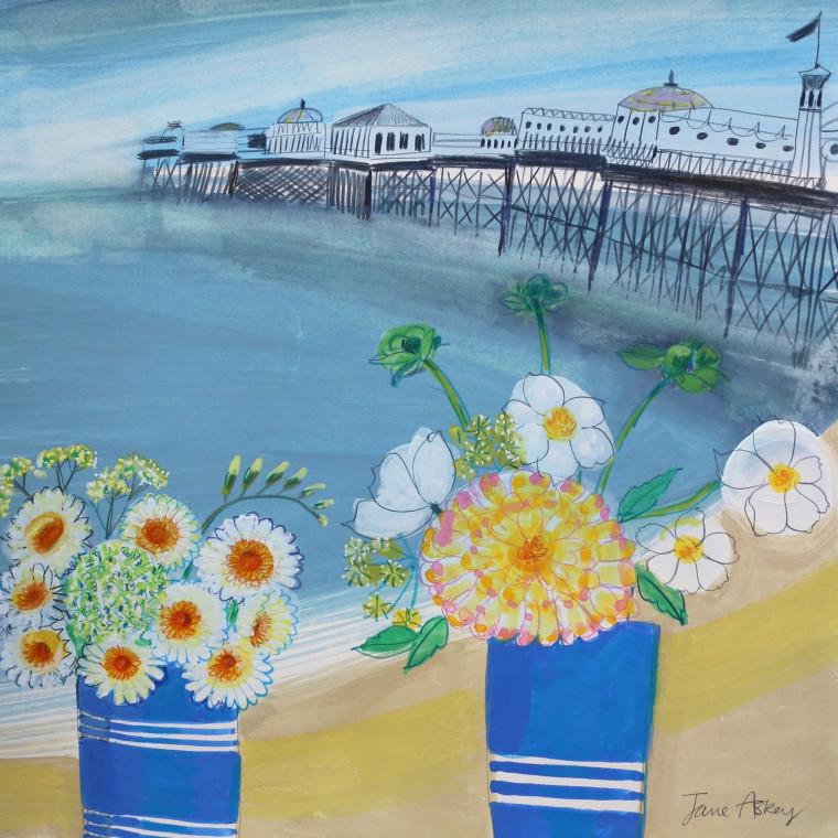 Brighton Pier Summer Morning