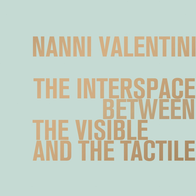 Nanni Valentini. The interspace between the visible and the tactile