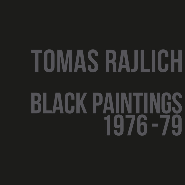 Tomas Rajlich: Black Paintings 1976-79. Exhibition video