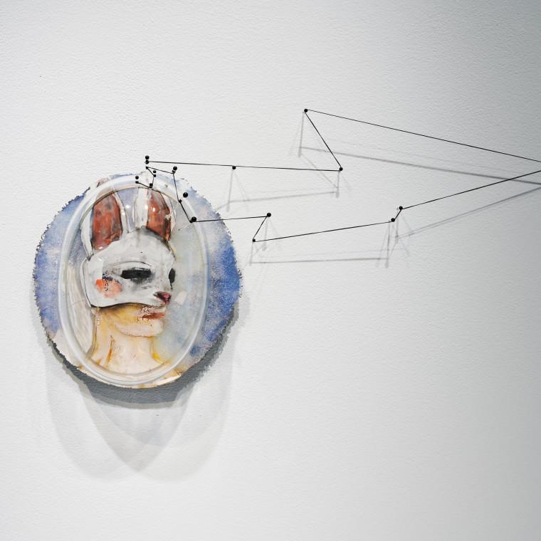 Nocturnal Veils @ Bullseye Resource Center New York Dorie Guthrie