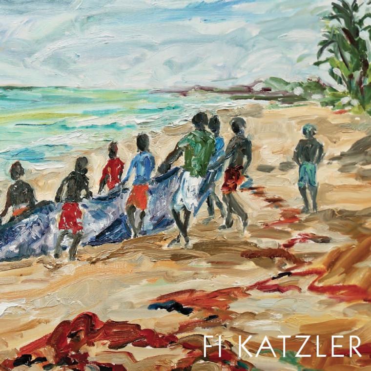 Fi Katzler - Cricket Fine Art London Here and There
