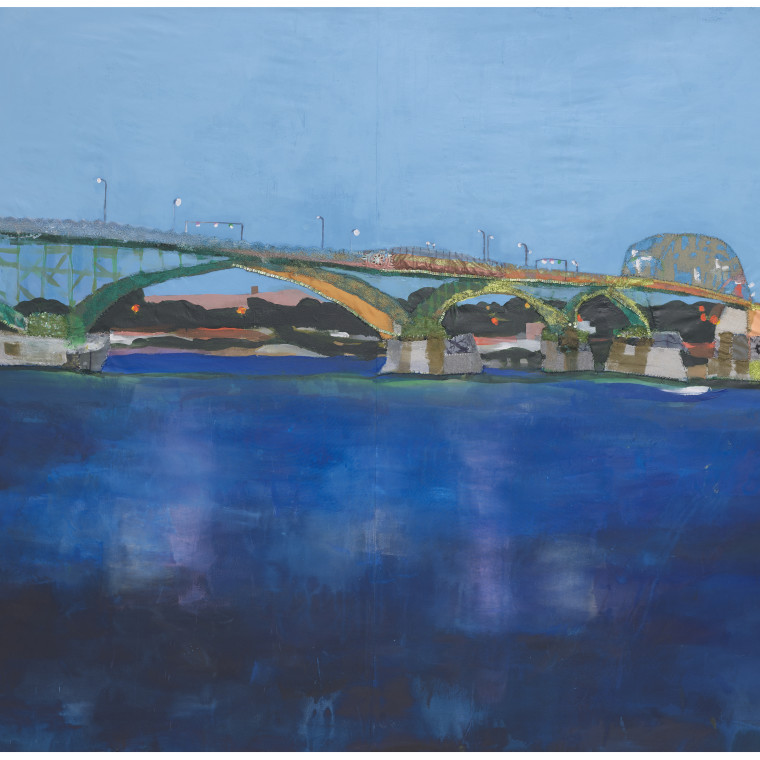 peace bridge: mixed media works by Melora Griffis