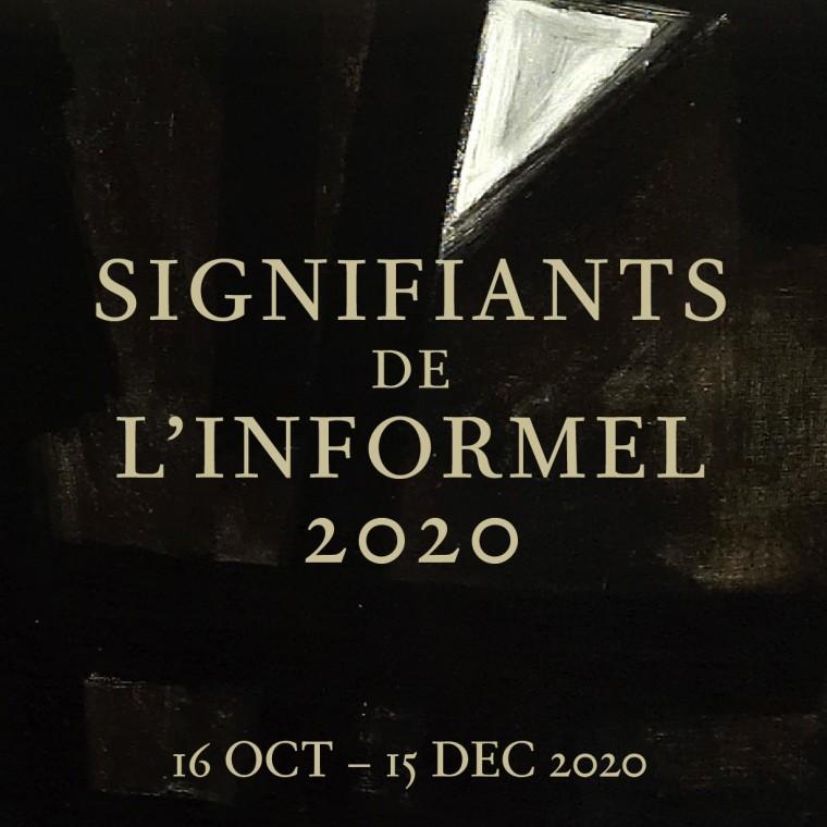 Signifiants de l'informel 2020