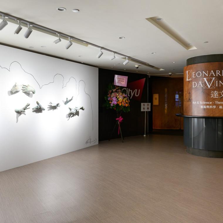 "Matteo Pugliese's work at ""Leonardo da Vinci: Art & Science, Then & Now"""