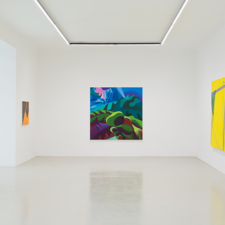 The Picture is a Forest A group show organized by James English Leary