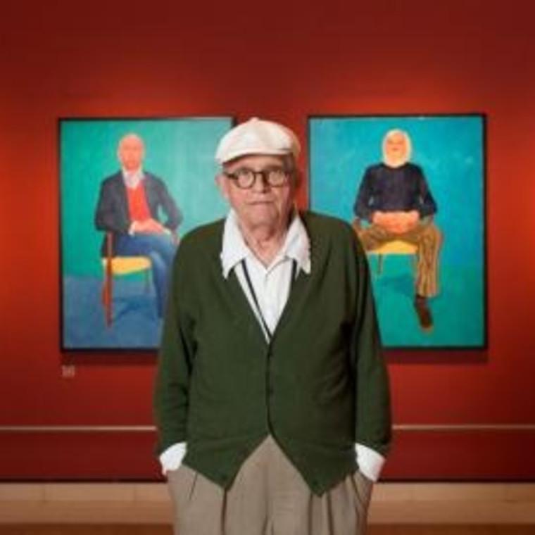In the Studio with David Hockney