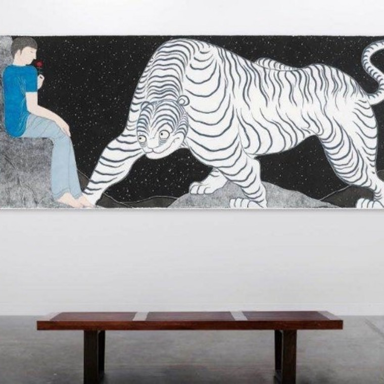 Liu Qi — Ferocious Tiger in Heart, Ora-Ora at Art Basel Hong Kong 2020 Online Viewing Rooms