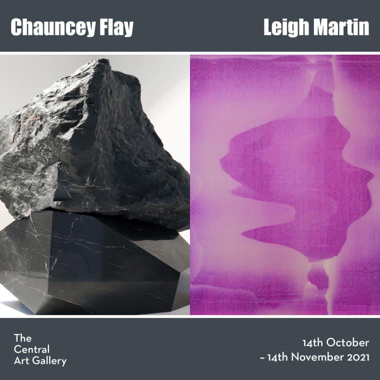 Chauncey Flay and Leigh Martin