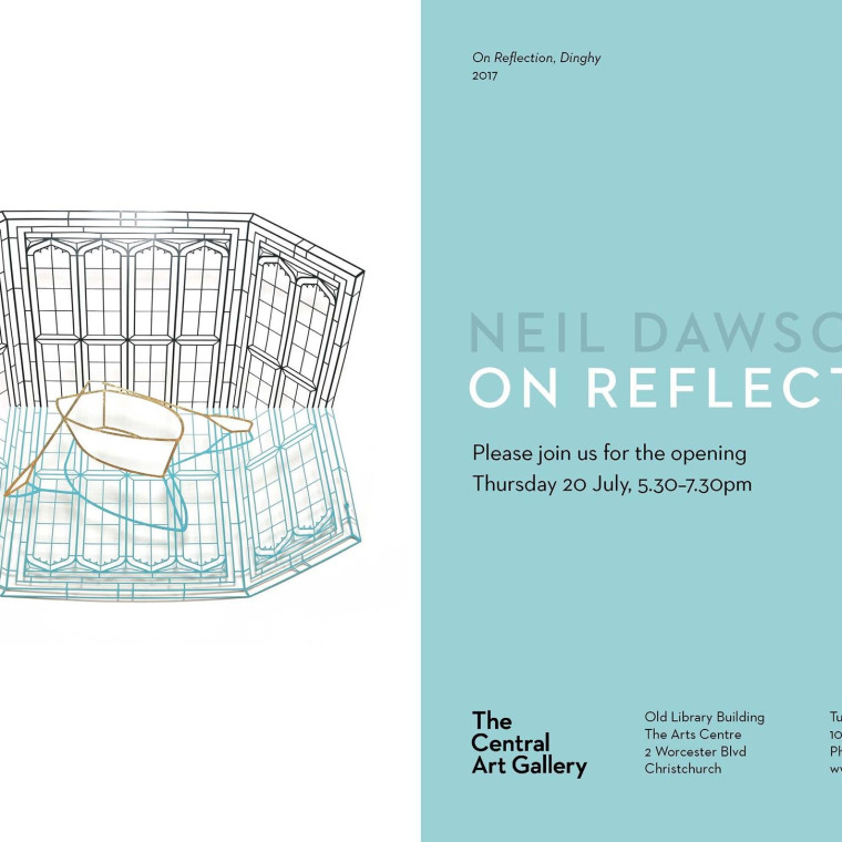 Exhibition opening - Show #5 : On Reflection by Neil Dawson