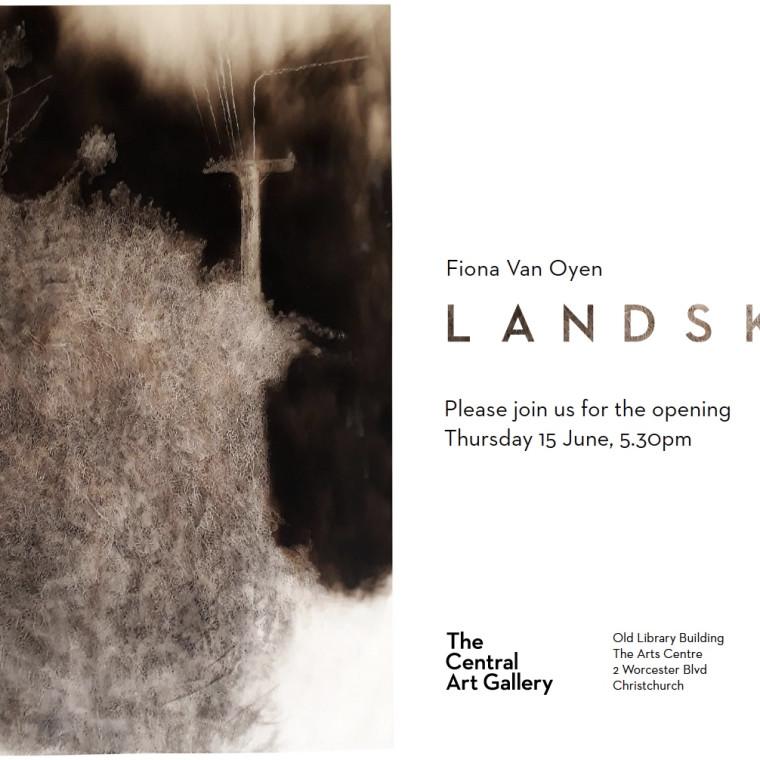 Exhibition Opening - Show #4 : Landskin by Fiona Van Oyen