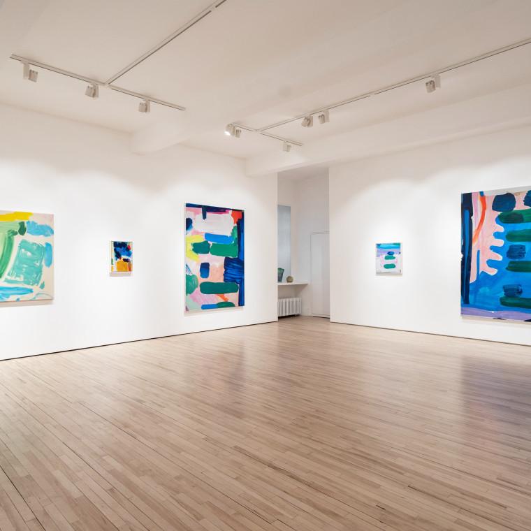 Tim Braden: Yellow Lake Deep, Rose, Violet, Mauve