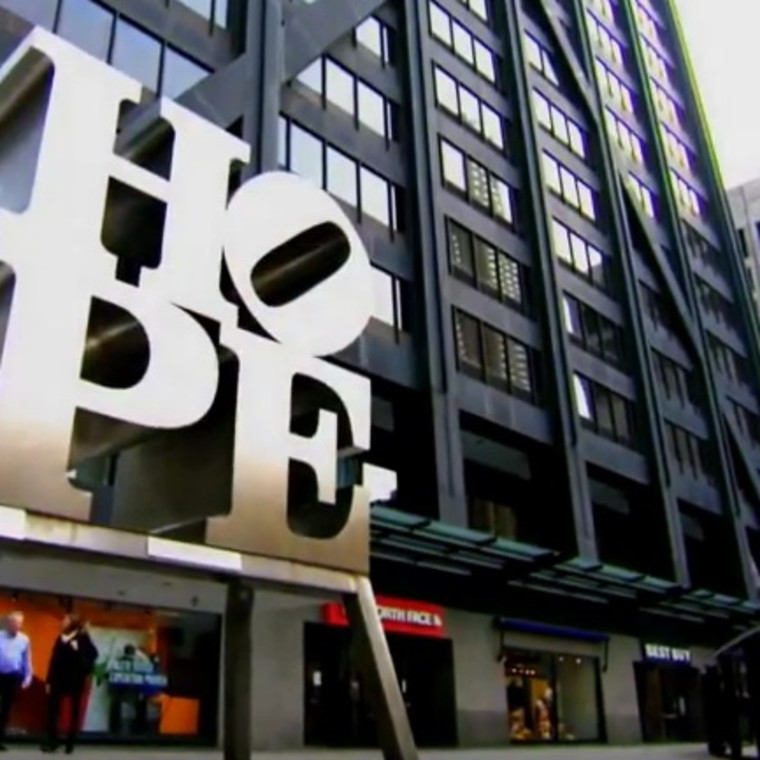HOPE—Robert Indiana