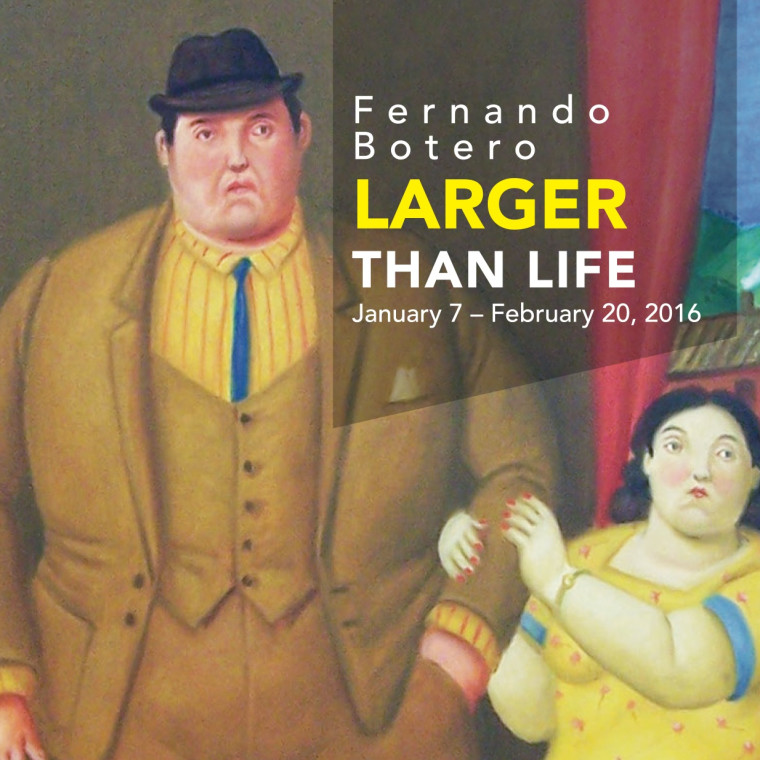 Fernando Botero: Larger Than Life Now on View