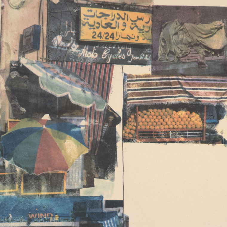 ROBERT RAUSCHENBERG, Flaps, 2000, 12-color screenprint, 37 1/3 x 29 1/2 inches (95.3 x 74.9 cm), Edition of 52