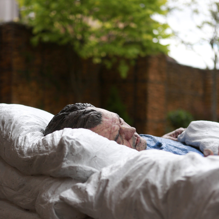 Sleeping Man: new installation