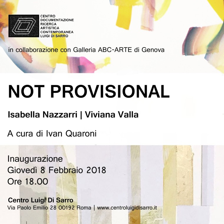 NOT PROVISIONAL | Isabella Nazzarri - Viviana Valla