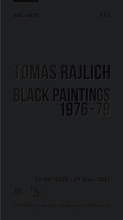 Opening Tomas Rajlich: Black paintings 1976-79