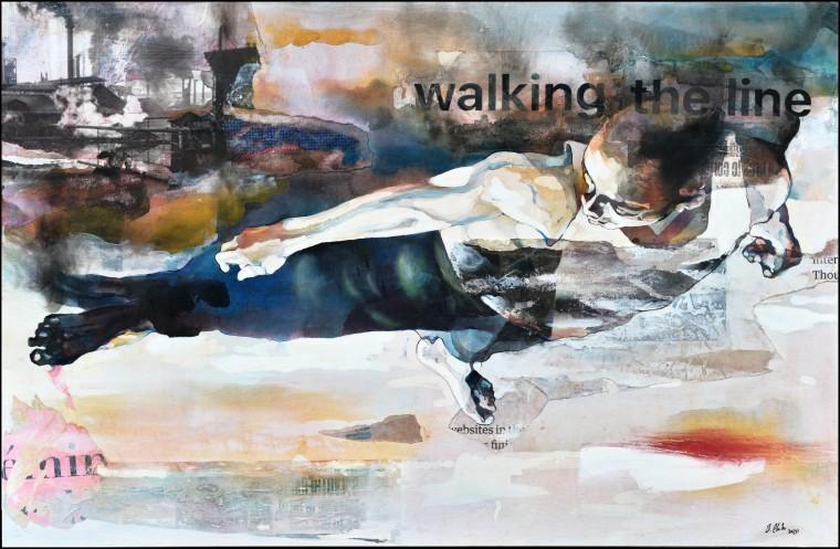 Walking the Line Bruce Clarke