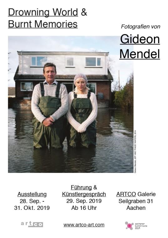 Gideon Mendel - DROWNING WORLD & BURNT MEMORIES ARTCO GALLERY, Aachen / Ger