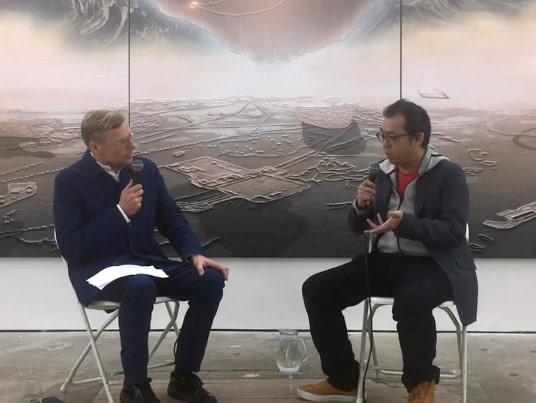 Gordon Cheung in conversation with Paul Hobson