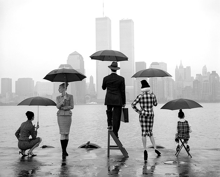 Rodney Smith, Skyline, Hudson River, New York, 1995