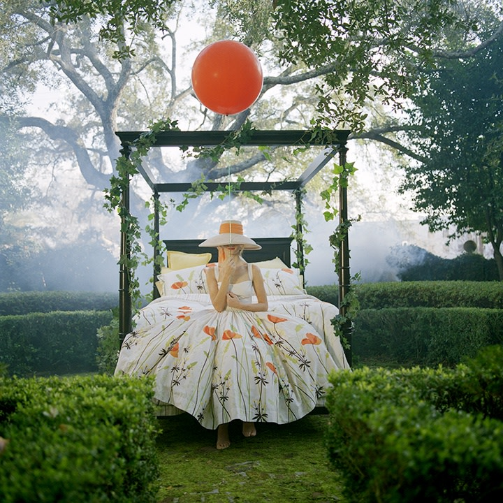 Rodney Smith, Maria Holding Orange Balloon, Charleston, SC, 2010