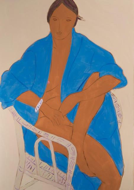 Pierre Boncompain, Le Peignoir Bleu