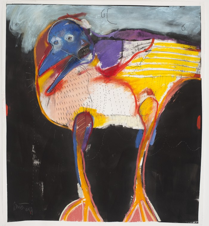 "Rick Bartow ""Crow's Instructions"" Exhibition Conversation Broadcast: 11am Pacific."