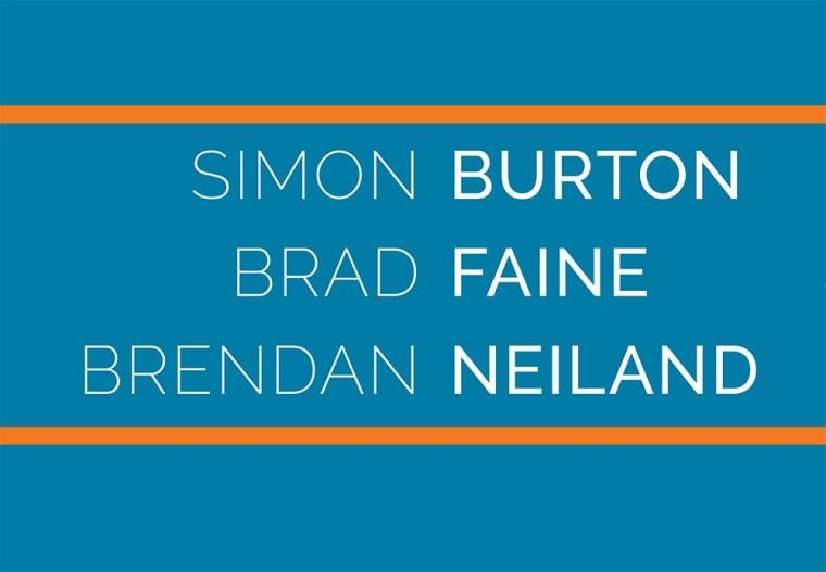 Simon Burton, Brad Faine & Brendan Neiland