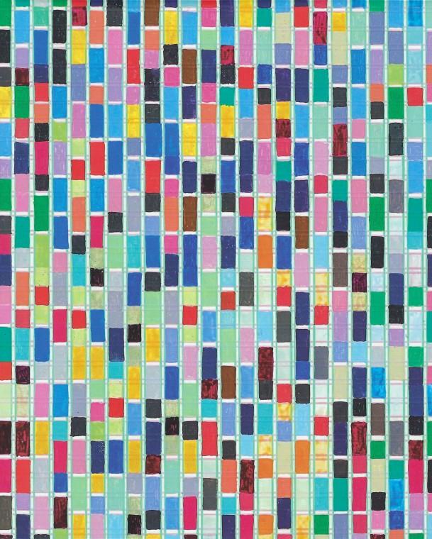 James Hugonin: Binary Rhythm Paintings 2010 - 2015