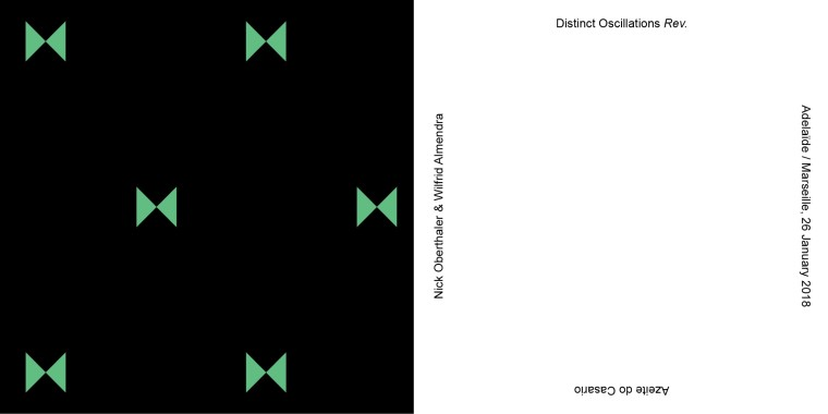Nick Oberthaler | Distinct Oscillations Rev.