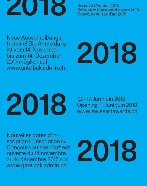 Mitchell Anderson & Ramaya Tegegne   Swiss Art Awards 2018