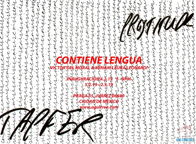 Miriam Laura Leonardi & Victor Del Moral | Duo Show - Contiene Lengua