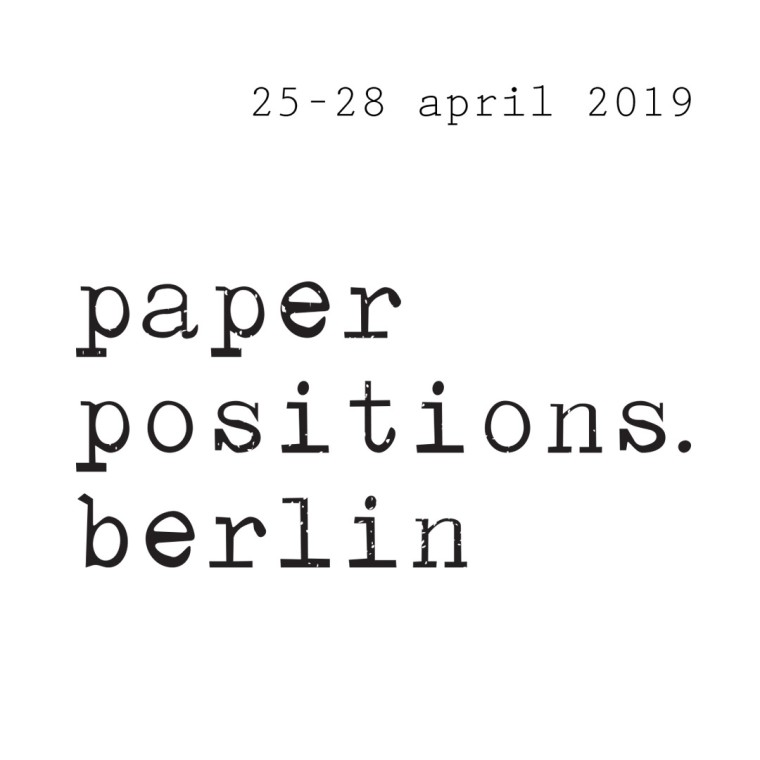 PAPER POSITIONS BERLIN 2019 - BOOTH 38