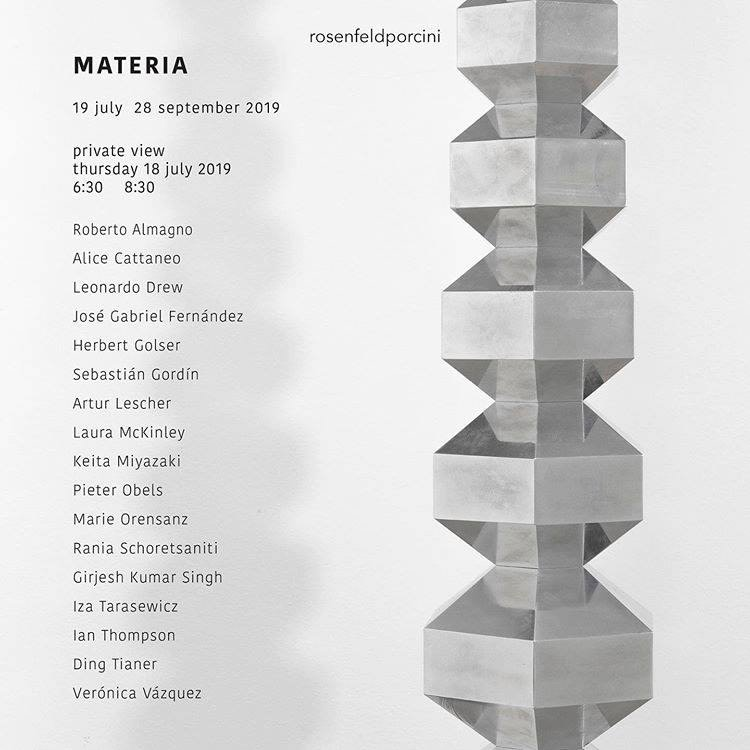 MATERIA — ROSENELD PORCINI 2019