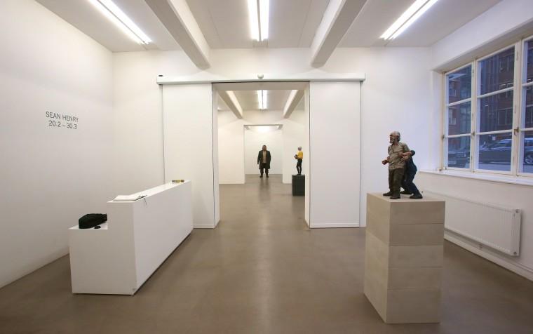Sean Henry: Sculpture, Galleri Andersson Sandstrom, Stockholm, Sweden