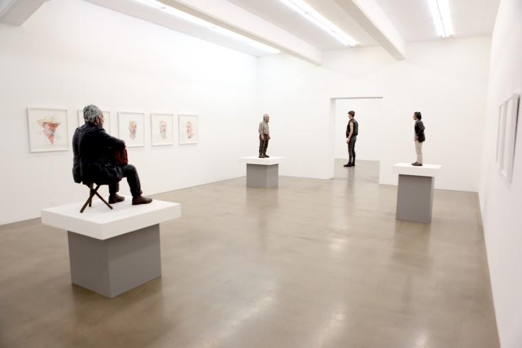 Sean Henry: Sculptures, Galleri Andersson Sandström, Sweden