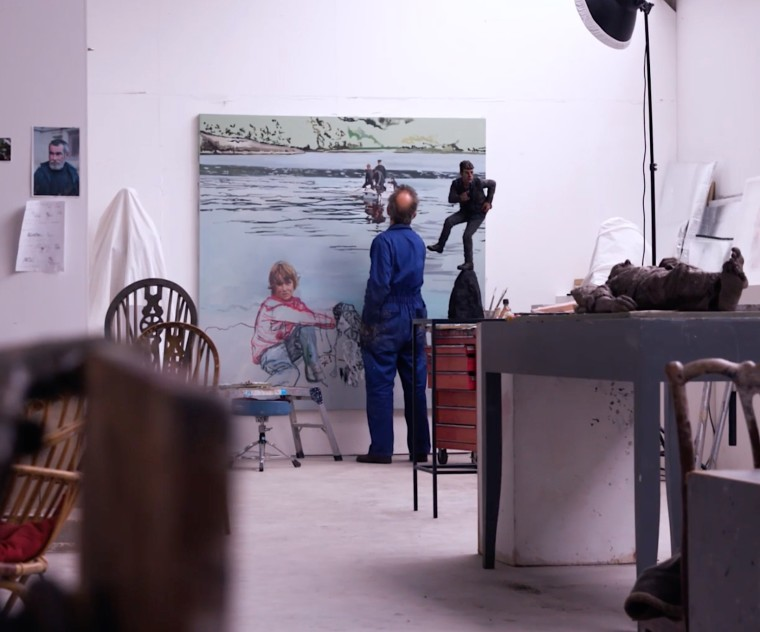 Sean Henry: In The Studio, The artist takes us on a tour of his studio