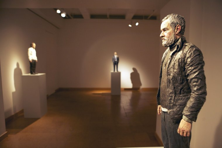 Sean Henry Sculpture, Forum Gallery, New York 2010