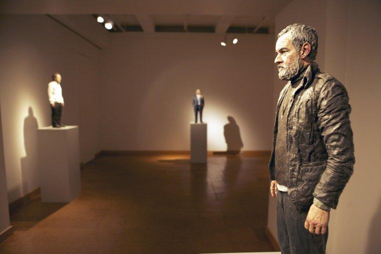 Sean Henry Sculpture, Forum Gallery, New York 2010